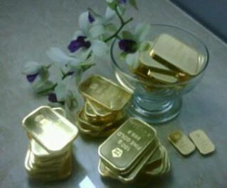 Harga Emas Jatuh Ke Level Terendah Dalam Sepekan