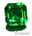 emerald paceted